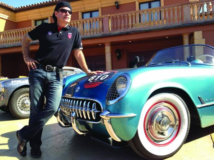 Eldad Matityahu with his 1954 Corvette Roadster_Credit Jack Hutcheson