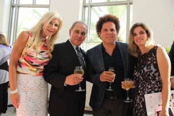 Estee Mandel-Jackson Health COO Don Steigman-Artist Romero Britto-Dr Giselle Guerra Medical Director of Miami Transplant Institute at UM-Jackson