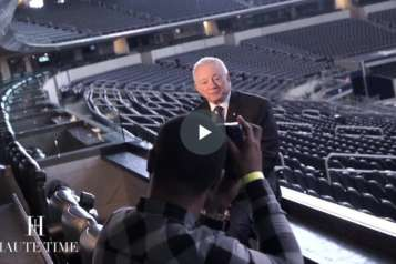 Haute Time BTS with Jerry Jones and Charlotte Jones Anderson