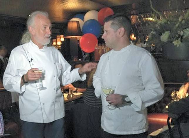 Chefs Hubert Keller and Chris Jones