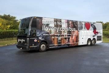 I Love NY Tourism partnership with Hampton Jitney
