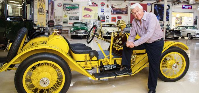 Jay Leno on Cars, the Concours & Comedy