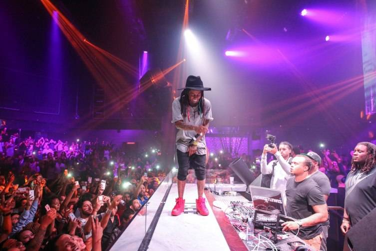 Lil Wayne at Life Nightclub