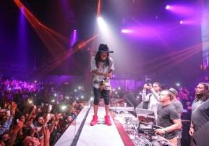 Lil Wayne Drops Free Weezy Album at LiFE Nightclub, July 4_Tony Tran