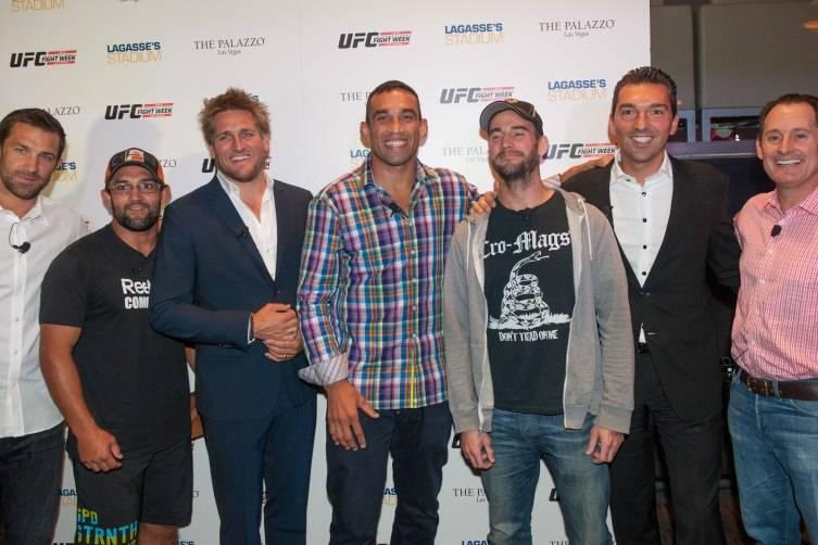 Luke Rockhold, Johny Hendricks, Curtis Stone, Fabricio Werdum, CM Punk, Sebastien Silvestri, Lawrence Epstein