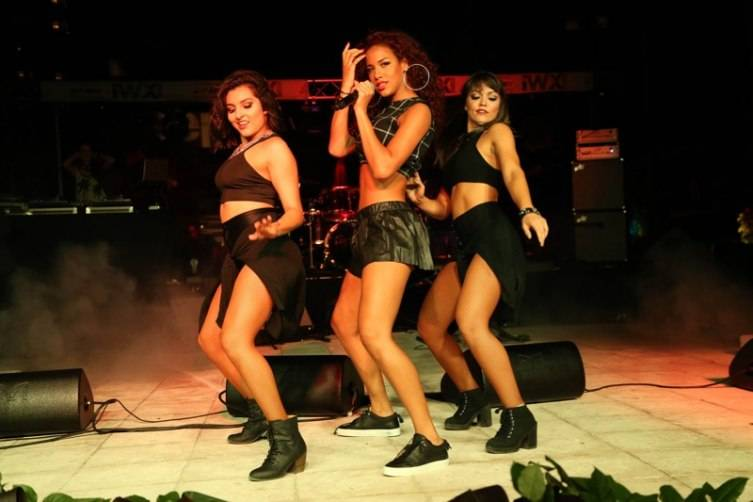 Natalie La Rose Performs at Hublot VIP Concert