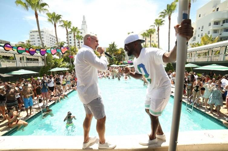 PitBull and DJ Irie