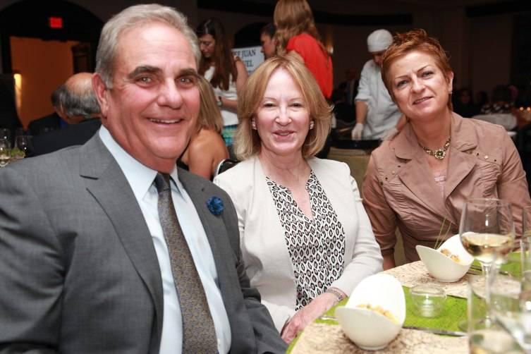 Public Health Trust Board Chairman Joe Arriola - wife Lourdes Arriola - Asst Dir Miami Transplant Institute Marian O'Rourke