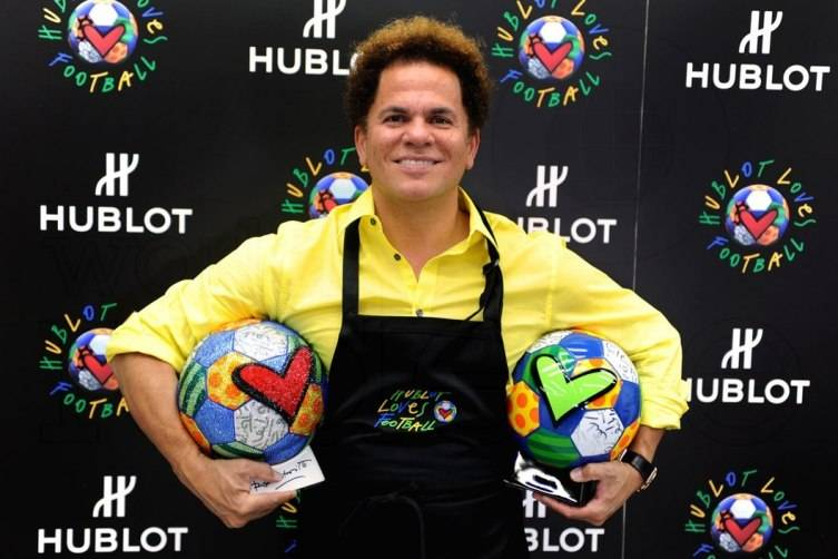 Romero Britto for Hublot at 2014 FIFA Brazilian World Cup