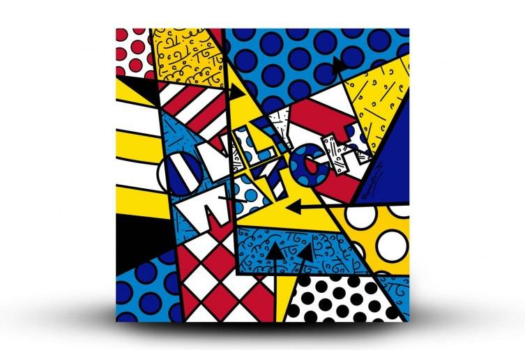 Inspiration Canvas sold with Romero Britto's Hublot watch.