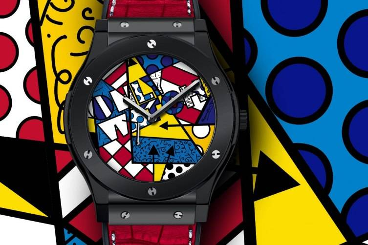 Romero Britto's Only Watch for Hublot