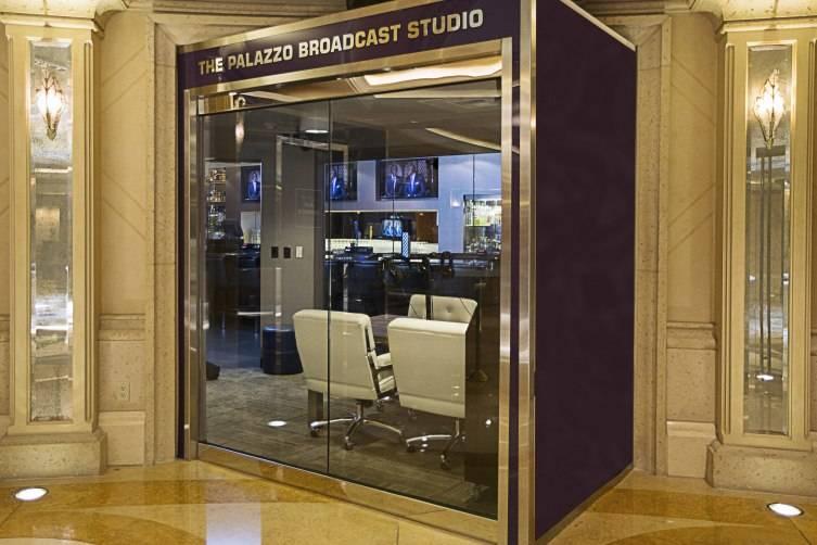 The Palazzo Broadcast Studio