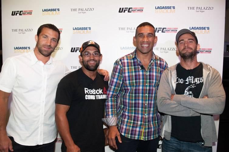 UFC stars Luke Rockhold,