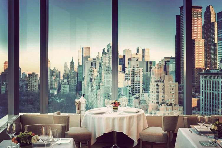 5 spots to take in the view while dining in nyc for 10 columbus circle 3rd floor