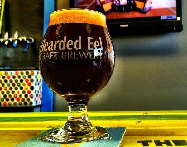 Bearded Eel Craft Brewery brews in very small batches.