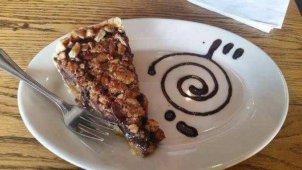 Cretia's  is a great spot for pie and coffee.