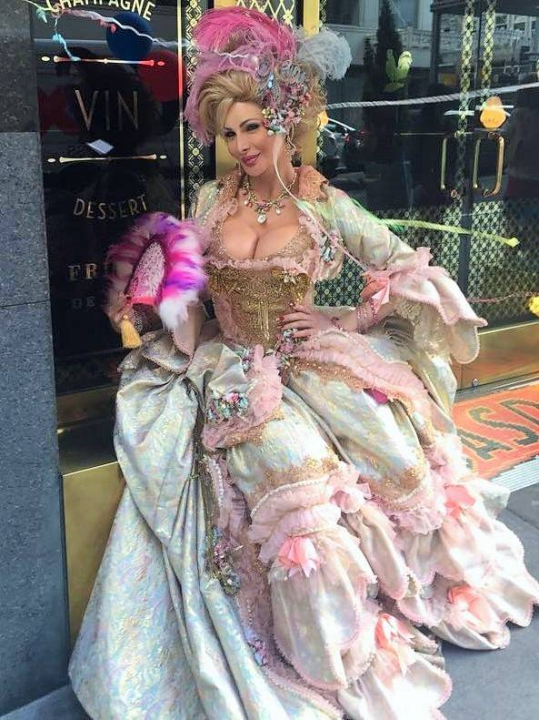 Cassandra Cass as Marie Antoinette at Gaspar