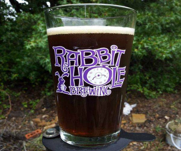 Rabbit Hole Brewing is available at Red Robin and other local spots.