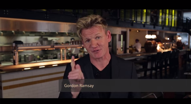 Celebrated Chefs Gordon Ramsay