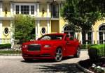 Up-Close and Personal With The Red-Hot Rolls-Royce St. James