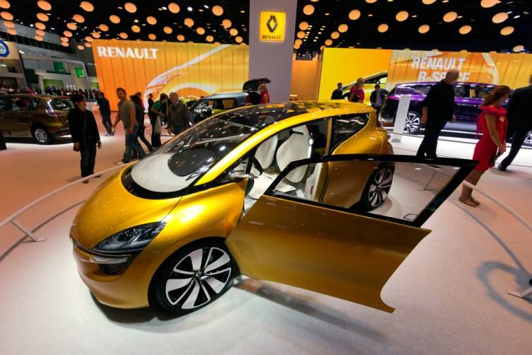 Renault R-Space at the IAA motor show on Sep 13, 2013 in Frankfurt.