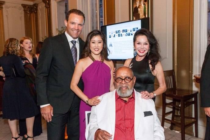 Bret Hedican, Kristi Yamaguchi, Cecil Williams and Janice Mirikitani