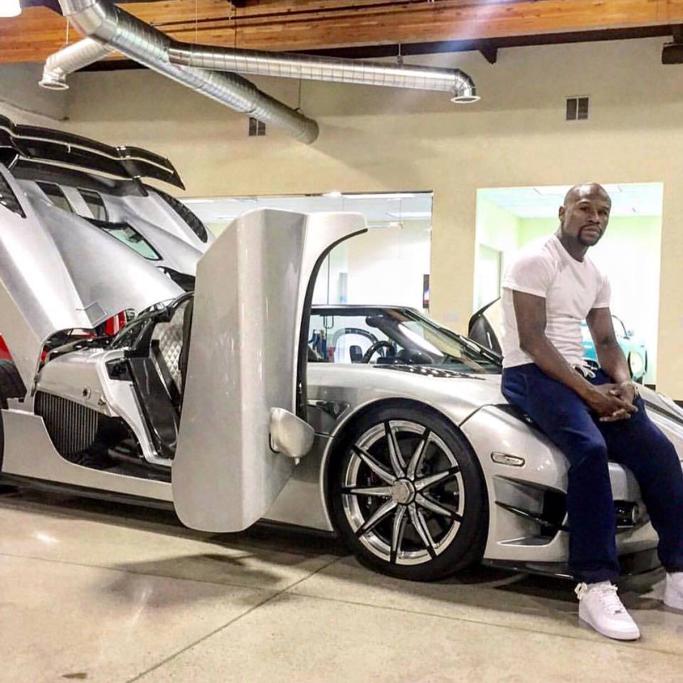 """Exotic The 10 Most Expensive Cars In The World Updated: See Floyd """"Money"""" Mayweather's $4.8M Koenigsegg CCXR Trevita"""