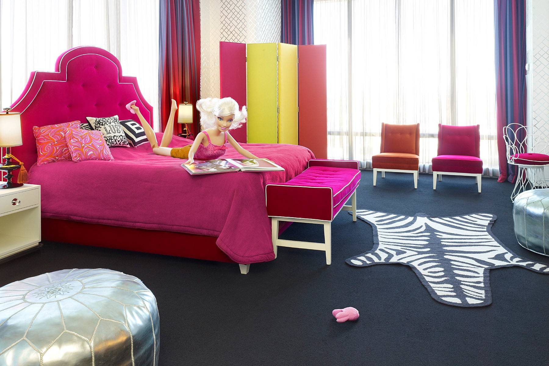 Resultado de imagen para Barbie / The Palms Casino Resort Barbie Suite