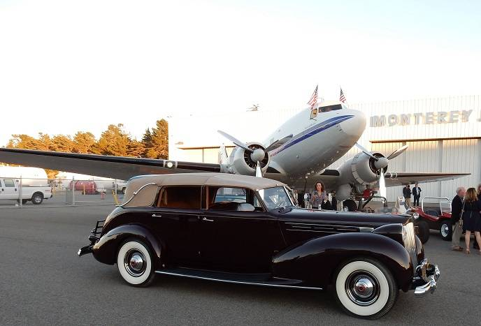 1938 Packard and Spirit of Benovia