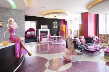 The Barbie Suite at Palms Las Vegas