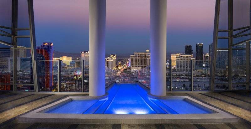 Live Like a Rock Star: The SkyVilla Suite at The Palms Casino
