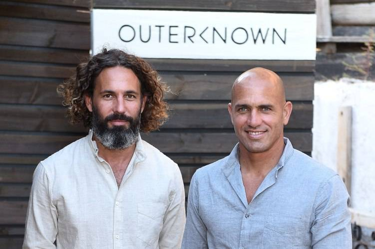 John Moore and Kelly Slater