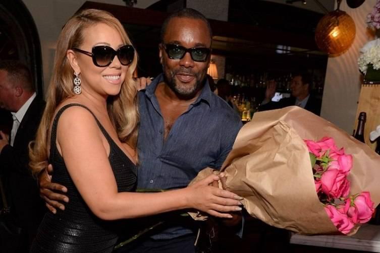Musician Mariah Carey and director Lee Daniels