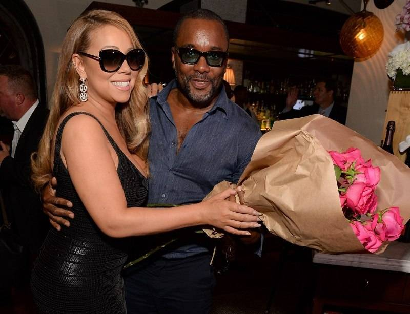Musician Mariah Carey and director Lee Daniels