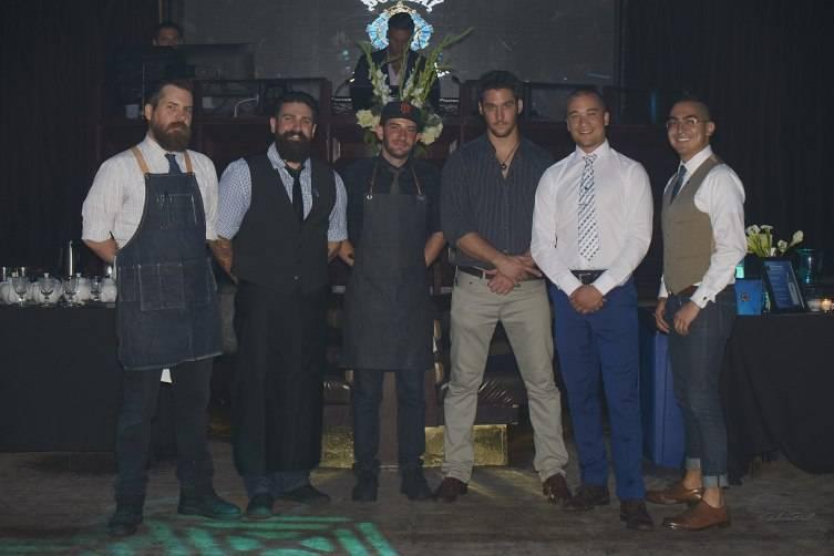 Steve Wagner, Dimitri Zahariadis, Brett Hughes, Gregory Buda, Jesse Vida and Jaime Rios (L-R)