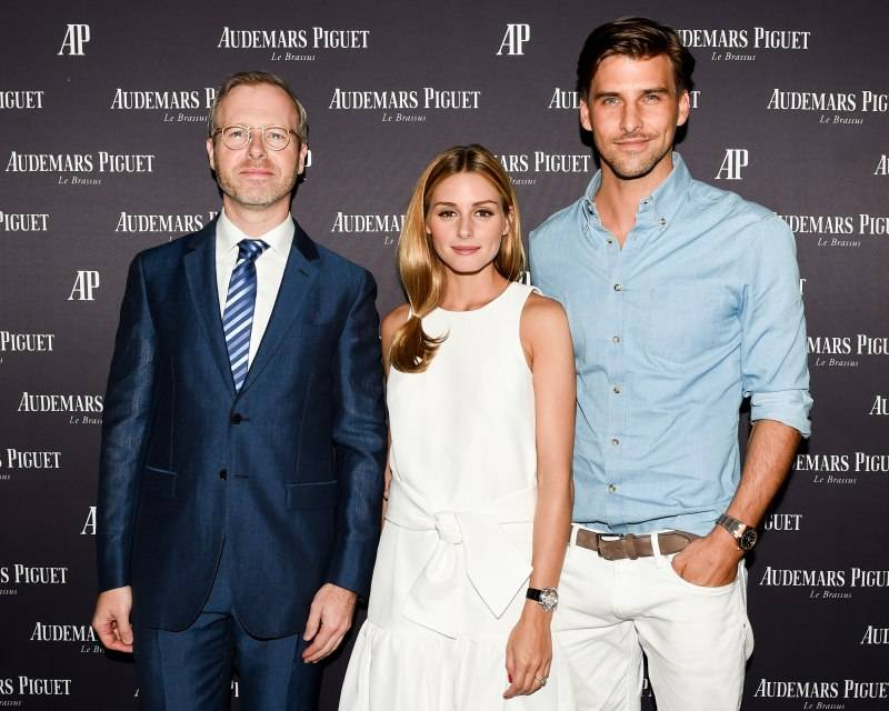 Xavier Nolot, Olivia Palermo, Johannes Huebl