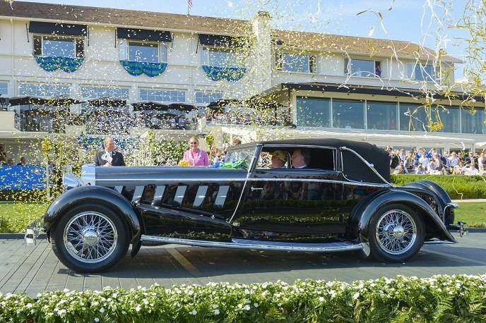 Best of Show winner: Jim Patterson's 1924 Isotta Fraschini Tipo 8A