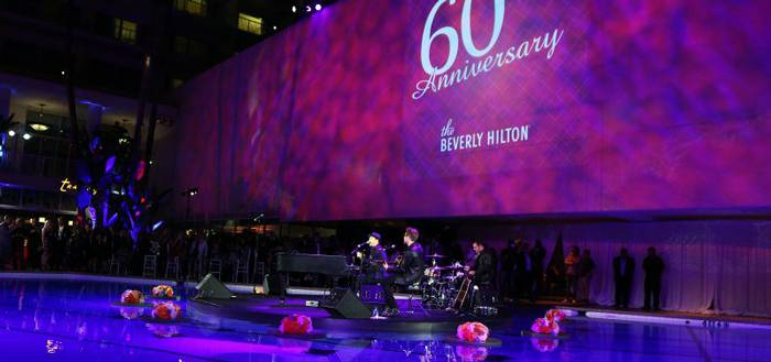 Inside The Beverly Hilton's Diamond Anniversary Bash