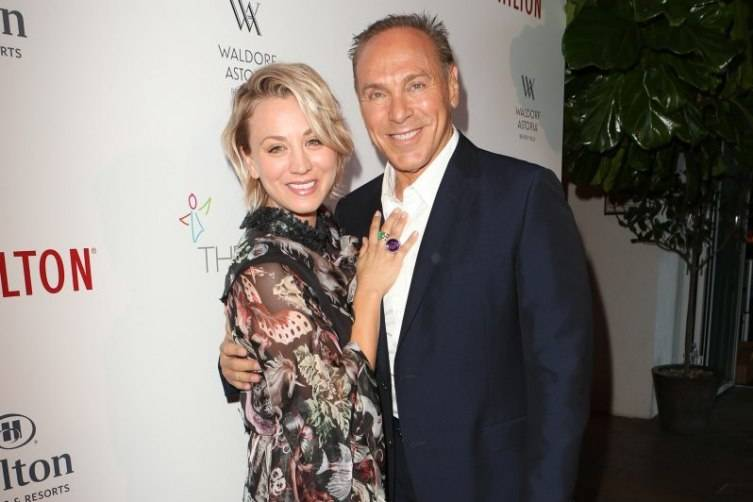 Kaley Cuoco and Neil Lane