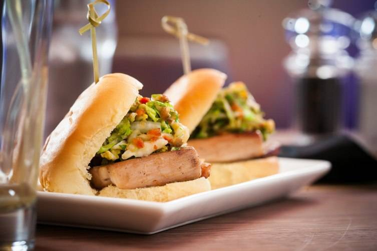 Biscayne Tavern - Pork Belly Sliders 2-2