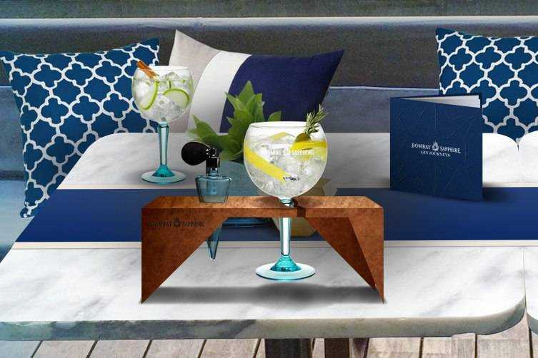 Bombay Sapphire Gin Journeys - Signature Serve