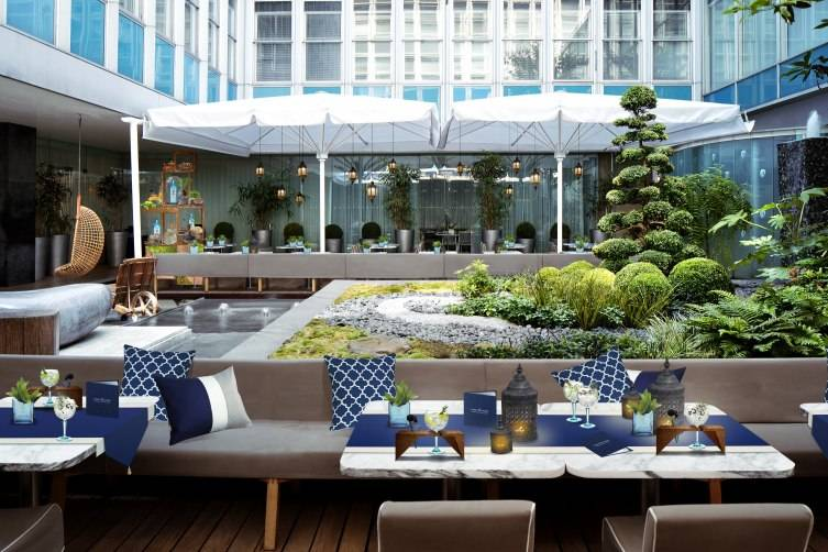Bombay Sapphire Gin Journeys - Terrace