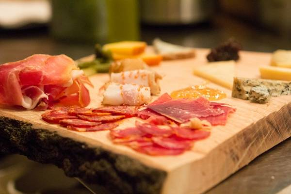 Imported meats, cheeses and other ingredients set Casa Rubia apart.