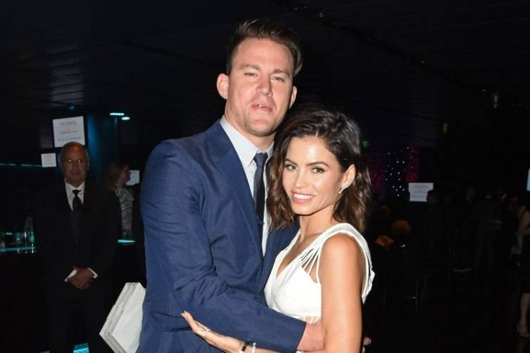 Channing Tatum and wife  Jenna Dewan-Tatum