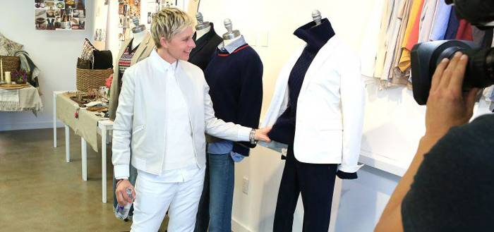 Ellen DeGeneres Partners With Bergdorf Goodman in NYC