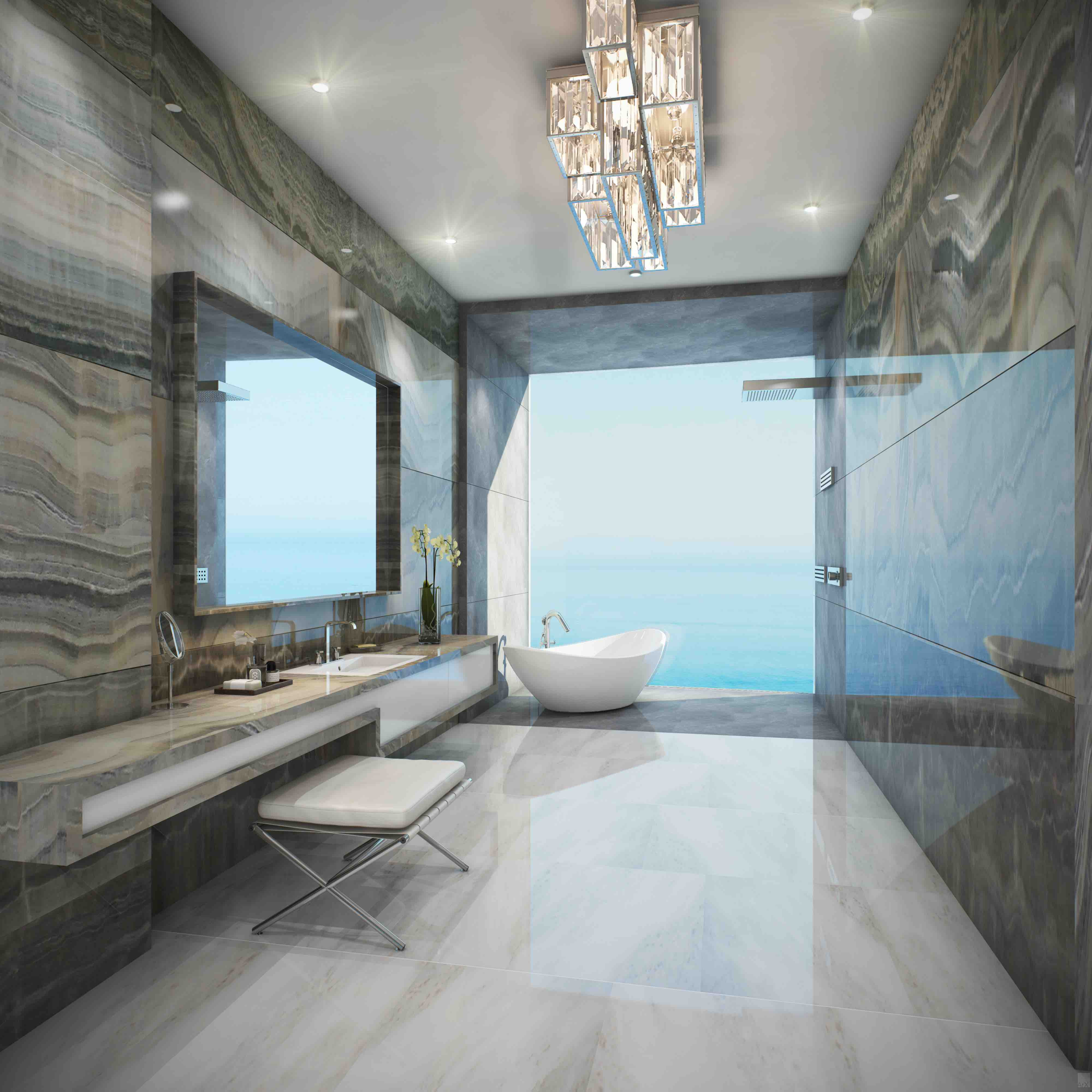 Estates at Acqualina Bathroom