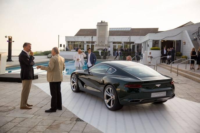 Bentley Motors party