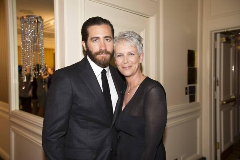 Jake Gyllenhaal and Jamie Lee Curtis