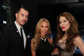 Jason Arasheben, Lisa Hochstein, & Tara Solomon at Jason of Beverly Hills in Miami Design District (Credit – World RedEye)