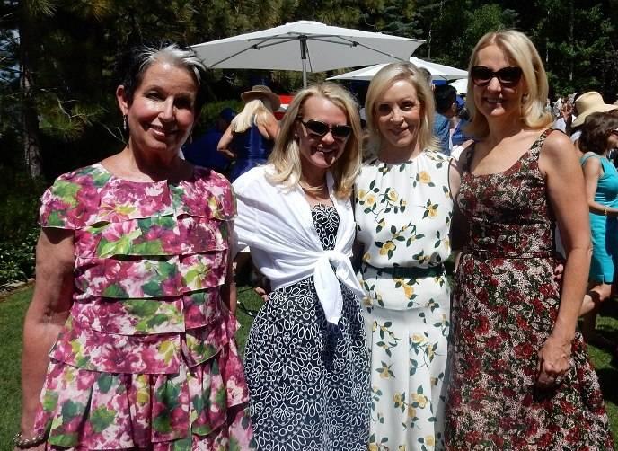 Karen Kubin, Jane Mudge, Barbara Brown and Ann Girard